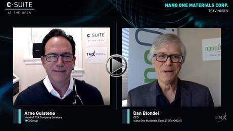 YouTube - The View From The C-Suite: Dan Blondel, CEO, Nano One Materials Corp.