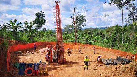 Loncor Resources Inc.: Drilling Rig